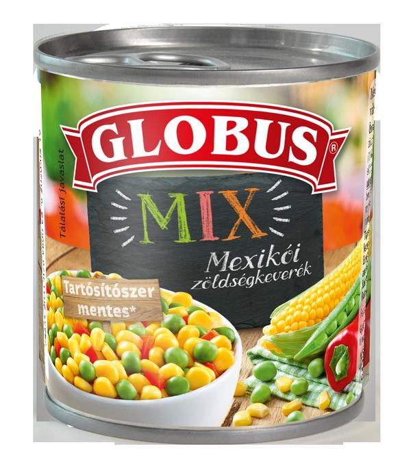 GLOBUS Mexikói zöldségkeverék konzerv