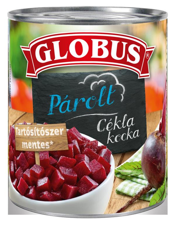 GLOBUS Cékla kocka konzerv