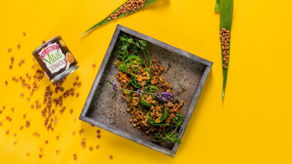 Zöldséges tönkölybúza recept