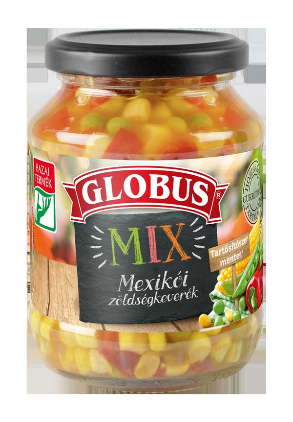 GLOBUS Mexikói zöldségkeverék üveges