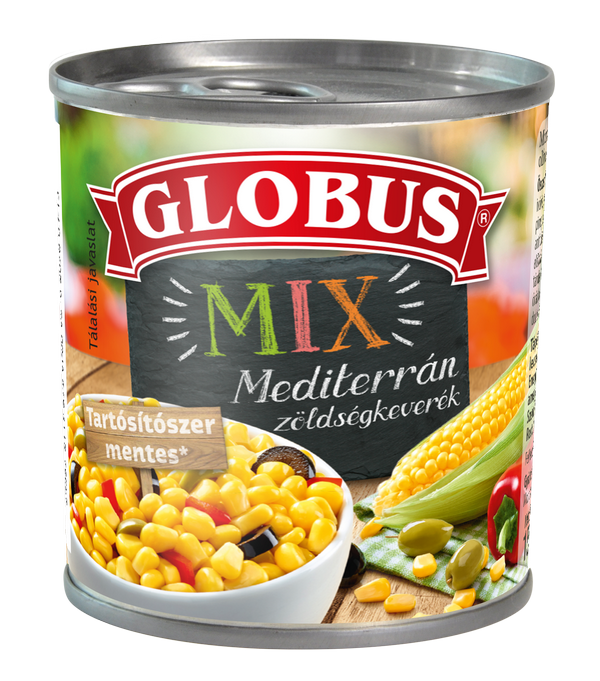 GLOBUS Mediterrán mix konzerv