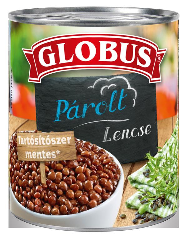 GLOBUS Lencse konzerv